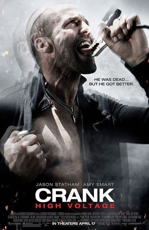 crank 2 High voltage plakat